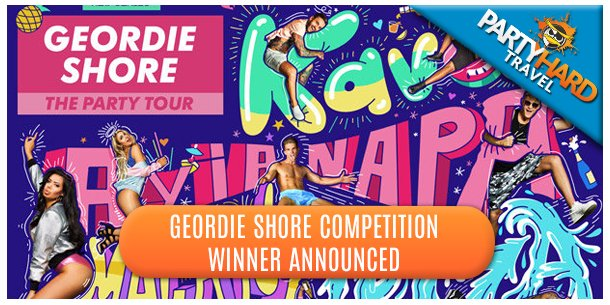 Geordie Shore Competition Winner Announced
